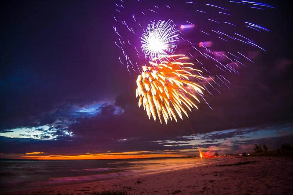 Beach Fireworks to Celebrate National Indigenous Day
