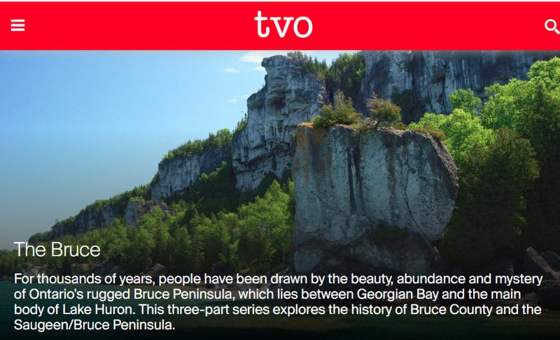 "TVO Documentary ""The Bruce"""