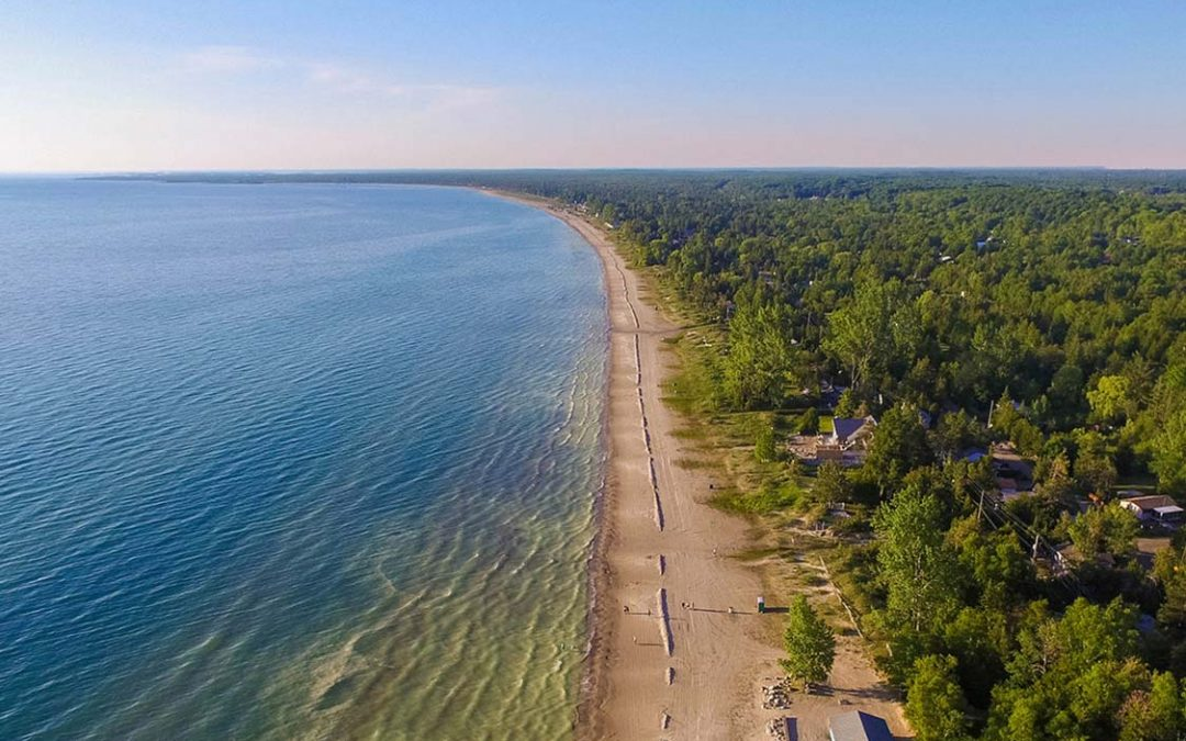 Sauble Beach Park Remains Closed