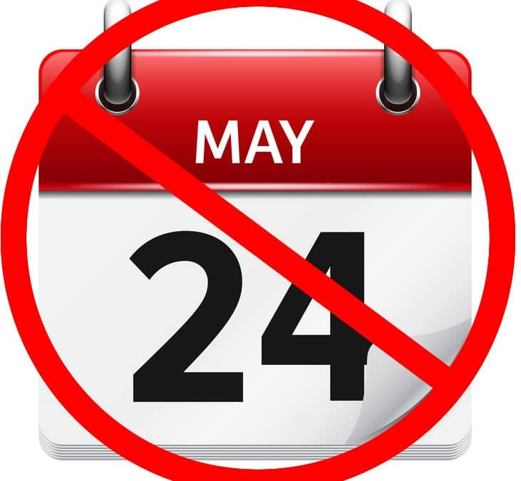 No Cottage Access on May Long Weekend