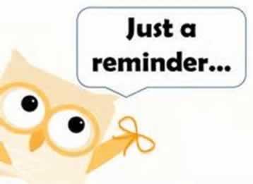 A Reminder