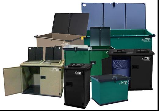 Bear-proof Garbage Bins